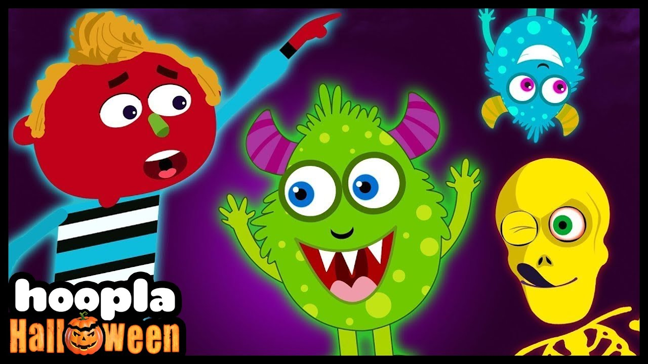 WHERE IS THE MONSTER? Funny Halloween Songs for Kids by Hoopla Halloween