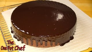10 Minute Microwave Chocolate Fudge Cake - Recipe