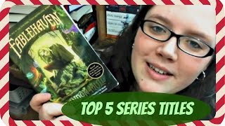 VLOGMAS #3 | Top 5 Series Titles Thumbnail