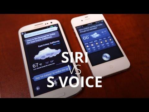 Siri vs. S Voice: The Showdown!