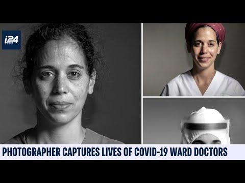 Israeli Photographer Captures Lives Of COVID-19 Ward Doctors