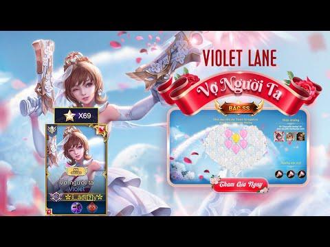 Skin Violet Vợ Người Ta Tái Xuất Giang Hồ   Violet Đi Lane   Liên Quân