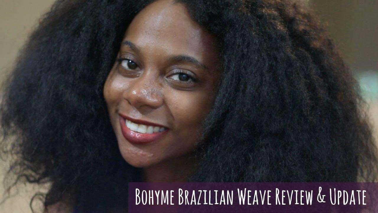 Update On Bohyme Brazilian Weave 2 Years Later Youtube