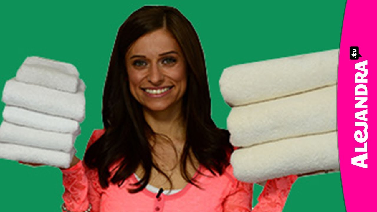 How To Fold Bath Hand Face Towels In The Bathroom Linen Closet You