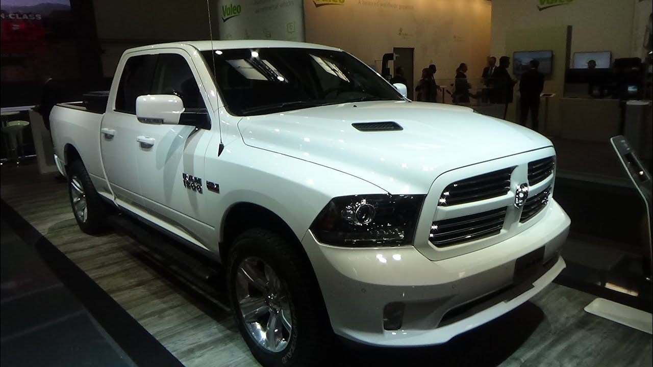 2017 Ram 1500 Quad Cab Sport Exterior And Interior Iaa Hannover 2016 You