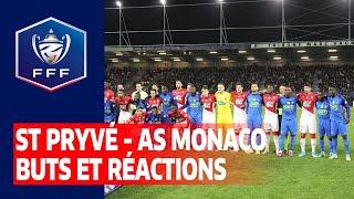 VIDEO: Buts et réactions après Saint-Pryvé Saint-Hilaire FC - AS Monaco (1-3) I Coupe de France 2019 2020
