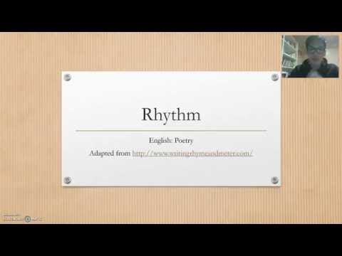 Rhythm in Poetry: Meter