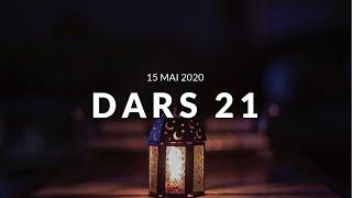 Jour 21 DARS RAMADAN - 15 Mai 2020 -  Comment se concentrer lors de la Salat partie 3