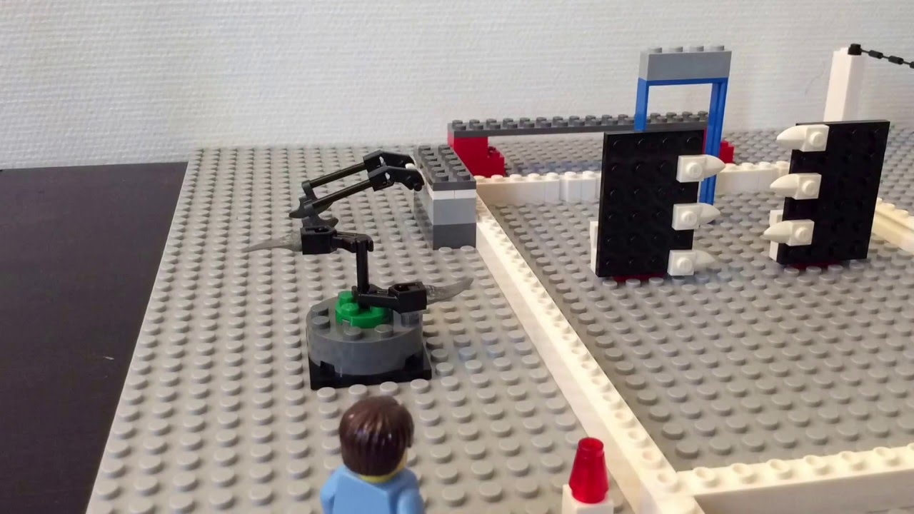 how to build lego traps