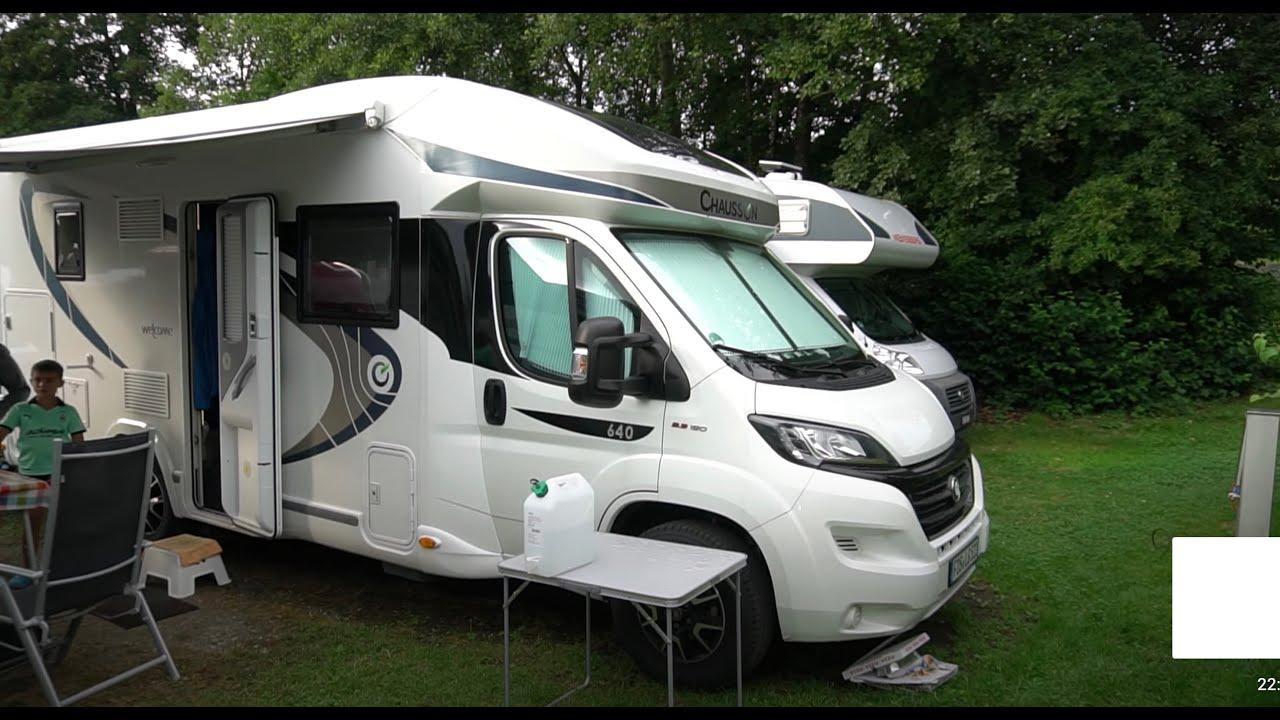 Chausson 8 Hubbett Wohnmobil Heckbad 8 in Bayern Erfahrungsbericht  Test Roomtour Vanlife