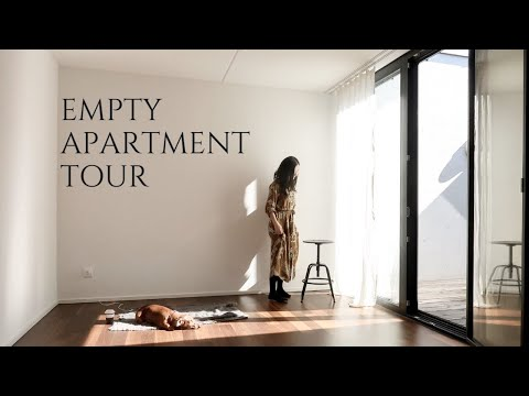 Empty Apartment Tour in Switzerland (with a Courtyard)