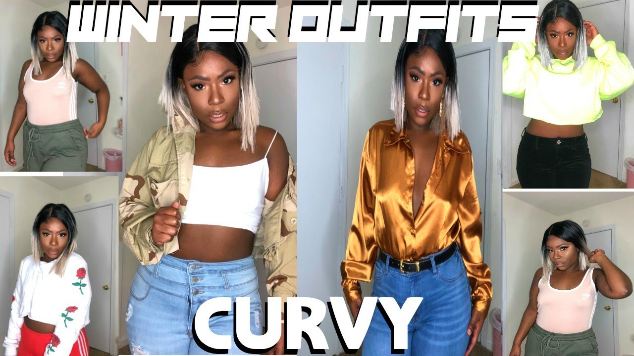 [VIDEO] - CURVY GIRL WINTER OUTFITS 2019 7