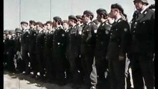 Parade des Bundesgrenzschutzes