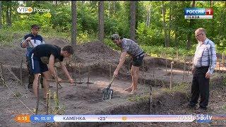 На Золотаревском городище раскопали тысячелетнюю мордовскую землянку thumbnail