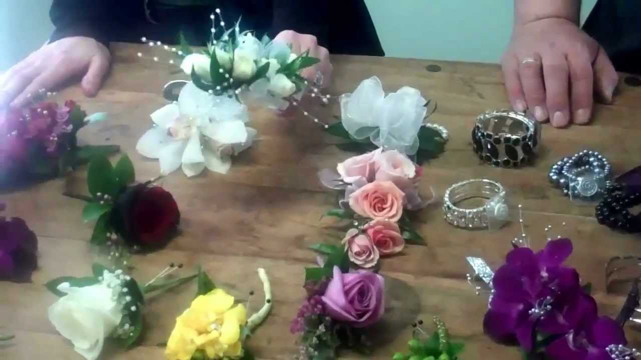Hottest Trends In Prom Corsages By Carithers Flowers Youtube