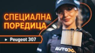 Поддръжка на Peugeot 307 SW - видео инструкция