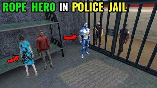 rope hero in police jail new update 6.0 in rope hero vice town    classic  gamerz screenshot 4