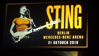 Sting LIVE @ My Songs Tour - Complet concert - Berlin, 31.10.2019
