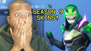 EVERYTHING in Fortnite Season 9 BATTLE PASS!