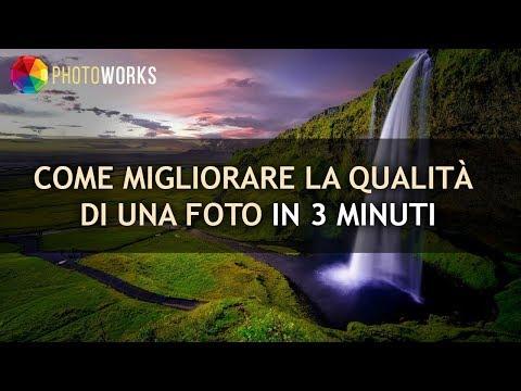 Photoshop - Migliorare una foto sfuocata from YouTube · Duration:  5 minutes 5 seconds