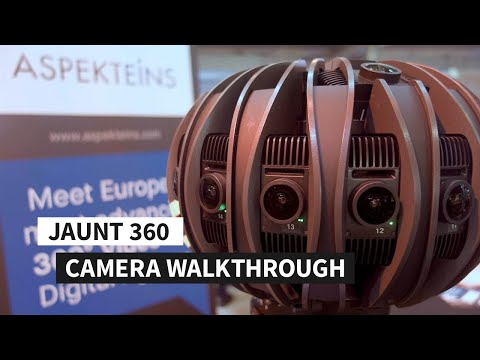 Jaunt 360 Camera Walkthrough Cam & Software