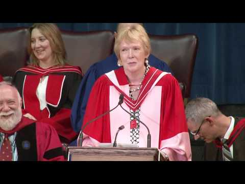 Margaret MacMillan, Convocation 2017 Honorary Degree recipient