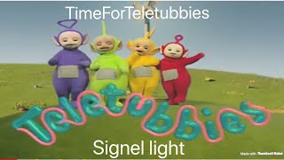 custom made teletubbies episode: signel light.