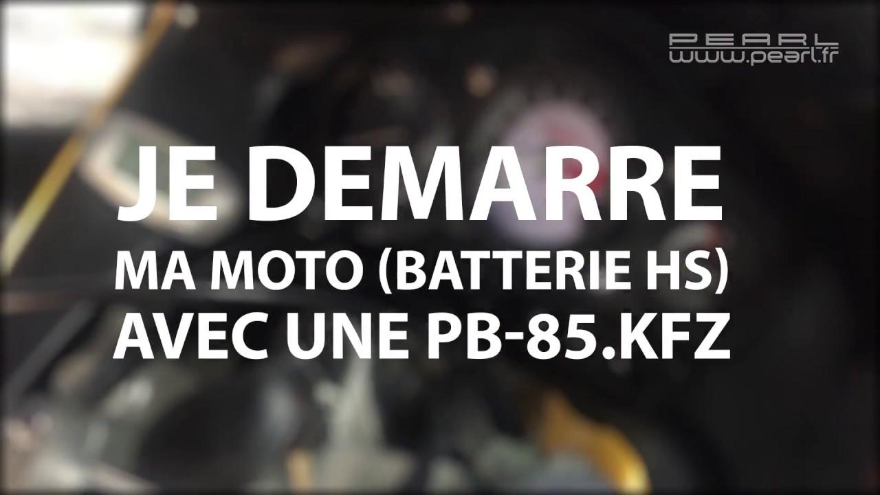 d marrage d 39 une moto avec batterie hs gr ce la batterie d 39 appoint revolt 8000mah 400a youtube. Black Bedroom Furniture Sets. Home Design Ideas