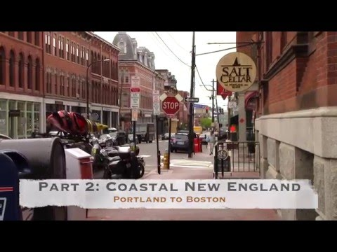 US Route 1 Road Trip, Part 2: Coastal New England - Portland to Boston