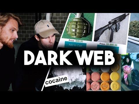UTFORSKAR DARK WEB (Droger, vapen, hitman)