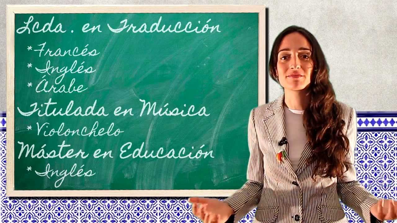 Video Curriculum Profesora Isabel Youtube