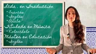 Video Curriculum Profesora Isabel