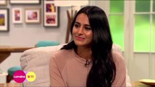 Sair Khan On Alya's Reaction To Kal's Death | Lorraine