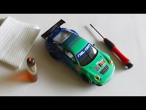 Slotcar reinigen – Tipps & Tricks – Carrera Bahn Digital Slot – Do it yourself No. 22