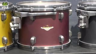 Tama Drums - Starclassic Bubinga/Maple new finishes - NAMM 2017