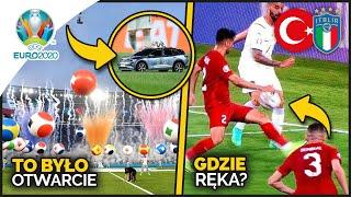 mają rozmach... EURO CZAS START! Samochodzik i KONTROWERSJA w meczu otwarcia! Turcja - Włochy 0:3