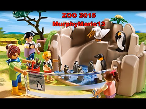 Playmobil 2016 zoo youtube for Piscine playmobil