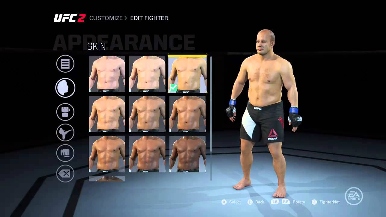 How To Create Fedor Emelianenko In Ea Sports Ufc 2 W Out Game Face Sony Ps4