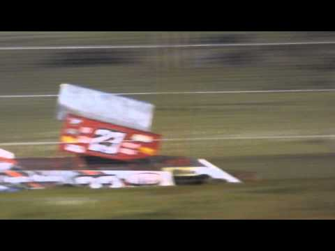 Lucas Dobbs Outlaw Heat Race Nevada Speedway 9/13/14
