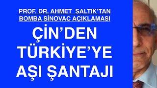 ÇİN, AKP'YE NEDEN ŞANTAJ YAPIYOR? PROF. AHMET SALTIK ANLATIYOR
