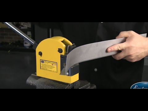 How To Use a Shrinker & Stretcher - Metal Fab Tips & Tricks - Eastwood