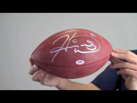 Hines Ward Signed Football