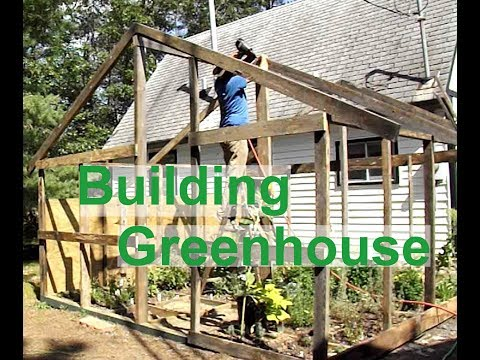 Finishing Greenhouse Framing & How We Use Solar Power