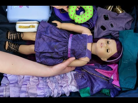 Packing For An American Girl Doll