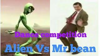Mr bean vs Alien/Funny dance competition