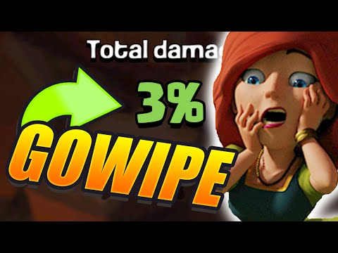 Clash of Clans – 3% GOWIPE FAIL!! The WORST Raid in CoC History!! How Is THIS Even Possible?!