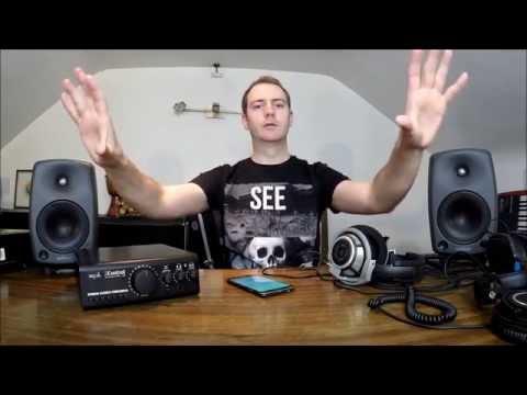 Sennheiser HD800 Headphones vs Genelec 8030 Monitors for Mixing