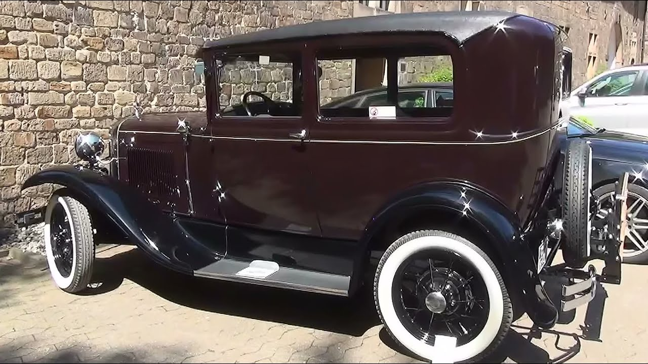 oldtimer echte rarit t ford t modell von 1930 youtube. Black Bedroom Furniture Sets. Home Design Ideas