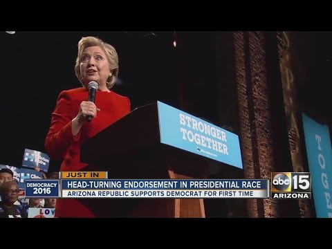 The Arizona Republic endorses Hillary Clinton for president
