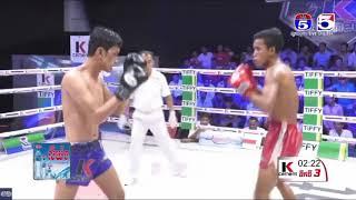 ហេង សុភ័ក្រ Vs ធី រឹទ្ធី, TV5 Knock Out, 05/May/2018 | Khmer Boxing Highlights